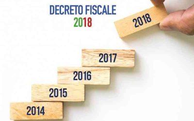 Il Decreto Fiscale in pillole